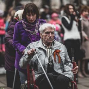 9 мая 2014 года на улицах города Вельска
