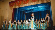 Художественный коллектив Государственного академического Северного русского народного хора в Вельске